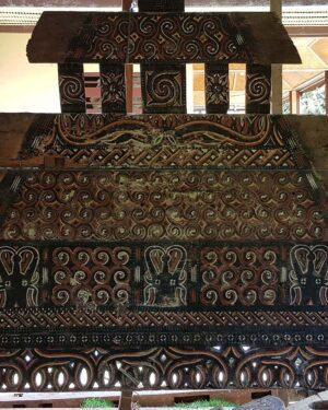 Antique Toraja House Carved Triangle (250cm x 220cm)
