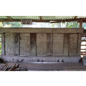 Antique Toraja House Tongkonan Panel (390cm x 140cm)