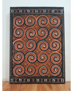 Toraja House Reproduction Panel - Pa'Tangke Lumu (37cm x 52cm)