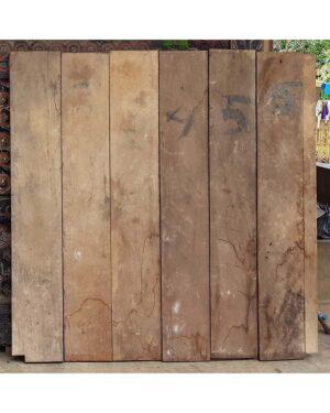 Toraja Sane' Ricebarn Panel - Pa'Tangke Lumu (153cm x 125cm)