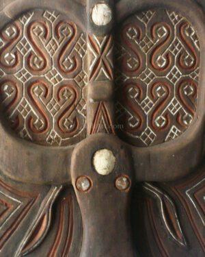 Toraja Water Buffalo House Door (Reproduction) A (2)