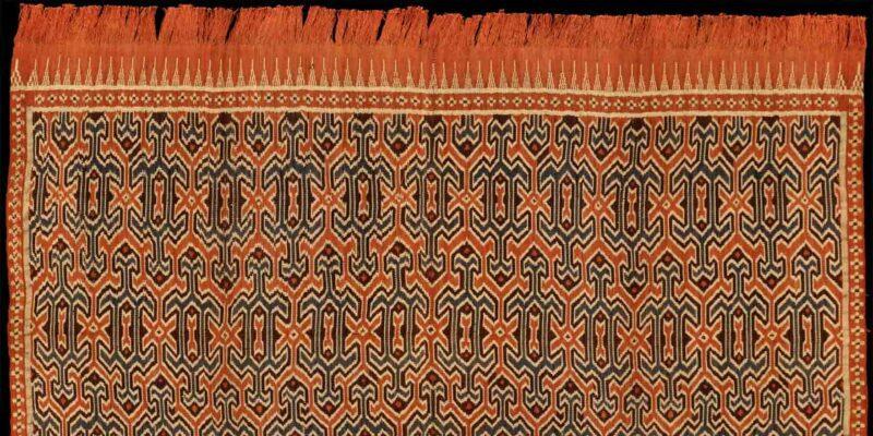 Weaving Ikat Sekomandi