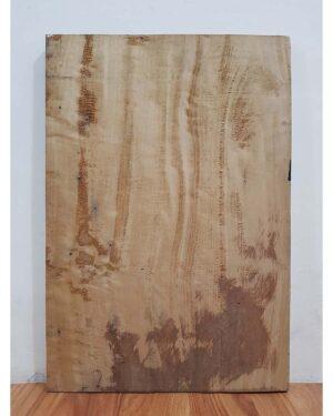 Toraja House Reproduction Panel - Ulukarua & Buffalo A (37cm x 52cm)